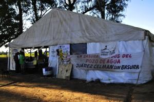 Humanistas expresan respaldo en el Acampe contra Monsanto en Malvinas Argentinas