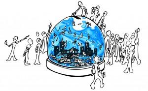France. L'eau, un enjeu des municipales 2014