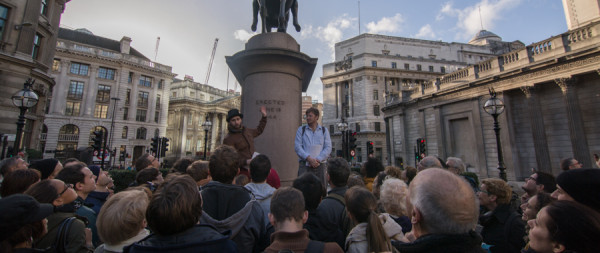 Occupy London Tours, sightseeing with different eyes