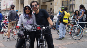 """Bogotá Humana presenta campaña """"Mi estilo es bici"""""""