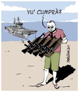 Gruppo navale Cavour, vergogna in movimento