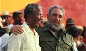 """Mandela ha muerto"", por Fidel Castro"