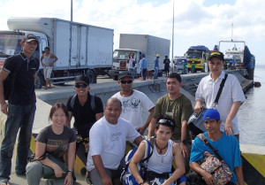 Mina's mission into Tacloban aiding typhoon victims