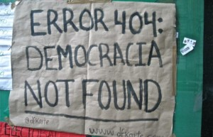 Movimientos sociales: la apuesta por la democracia desde el Internet