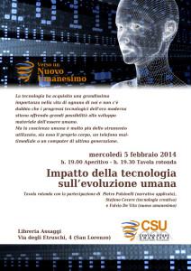 Impatto della tecnologia sull'evoluzione umana