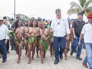 Pañacocha: segunda comunidad del milenio construida en la Amazonía de Ecuador gracias a recursos petroleros