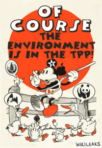 Secret Trans-Pacific Partnership Agreement (TPP) – Environment Chapter