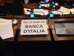 Giù le mani dalla Banca degli Italiani!
