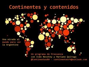 Continentes y contenidos ya sale al aire por Radio Hache
