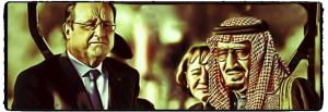 Hollande con las monarquías feudales en la guerra de Siria