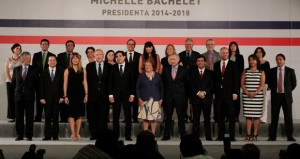 Equilibrio de fuerzas en primer gabinete de Michelle Bachelet
