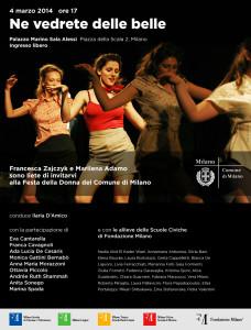 Festa della donna 2014 a Milano