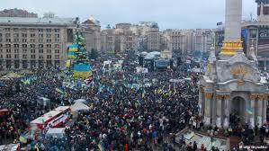 Ucrania: o povo e a praça
