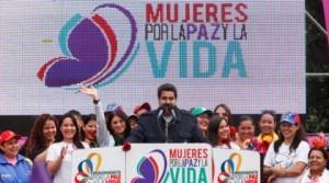 Instalan en Caracas Conferencia de la Paz de las Mujeres