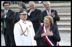 Michelle vuelve a La Moneda