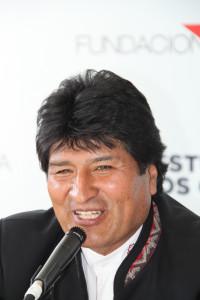 Chile: Encuentro con Evo Morales