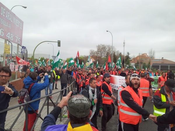 Las Marchas de la Dignidad vista por los propios manifestantes