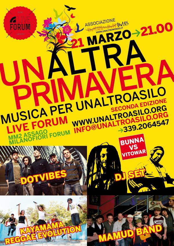 UnAltraPrimavera: Musica per UnAltroAsilo – seconda edizione