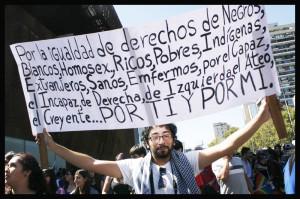«La Marcha de todas las marchas» se toma Santiago