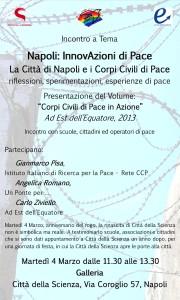 Napoli: InnovAzioni di Pace