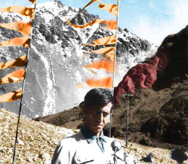 Celebrazione sulla montagna