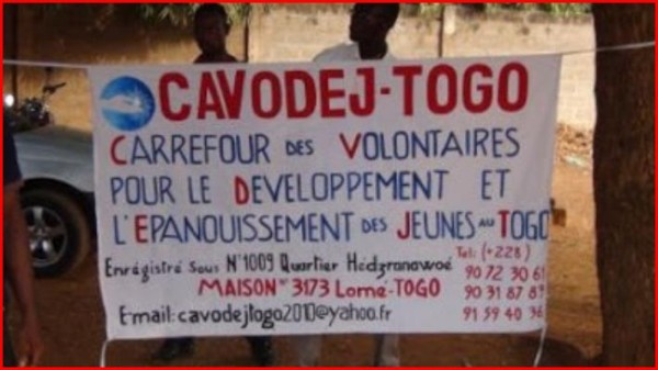 Stages humanitaires avec l'association CAVODEJ-TOGO