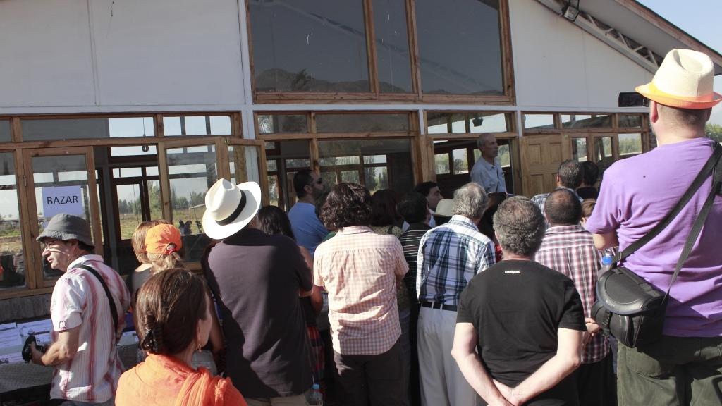 inauguración parque paine - Chile