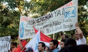 ¿Por qué Paraguay va a la huelga general?