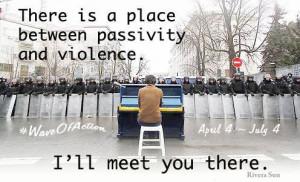 Vague d'actions : la prochaine vague de protestations non violentes