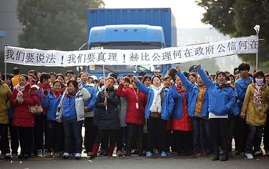 Mais de 30 mil: chineses realizam uma das 'maiores greves de trabalhadores na história recente'