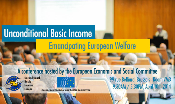 First major conference to discuss Unconditional Basic Income at the European Union