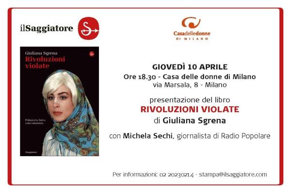 """""""Rivoluzioni violate"""" alla Casa delle Donne di Milano"""