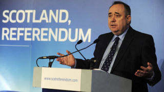 """Team Scotland"""": Salmond Calls on Labour Voters to Back Independence"""