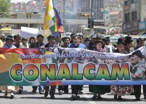 Organizaciones sociales bolivianas denuncian 'intento de desestabilización' y convocan a marcha de unidad