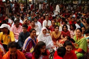 Swinging in the Bengali New Year