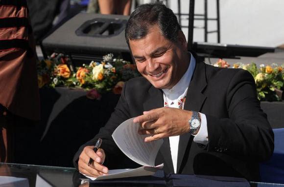 Presidente de Ecuador recibirá doctorado Honoris Causa por parte de la Universidad de Barcelona