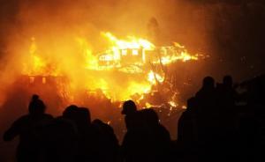 Chile: Segunda noche del gigantesco incendio en Valparaíso