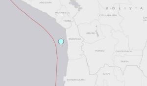 Terremoto y alerta de Tsunami en Norte de Chile y Sur de Perú