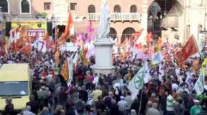 Italia: Se manifiestan en Verona por la independencia