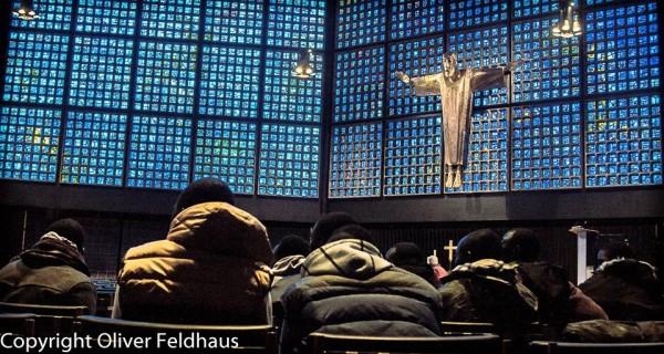 Bitte der hungerstreikenden Flüchtlinge um Kirchenasyl abgelehnt