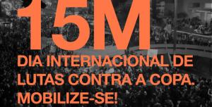 Vídeo da polícia do Alckmin atacando pelas costas o 15M em SP