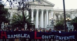 Movimientos ciudadanos buscan acuerdo para plebiscitar Asamblea Constituyente