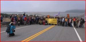 Canada : Initiative citoyenne de protestation contre les projets des pipelines visant à exporter les sables bitumineux d'Alberta