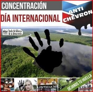 Journée Internationale contre Chevron (21 mai 2014)