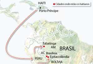 Brasil: Sobre a vinda de haitianos