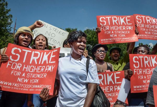 Burger Spring? Fast Food Workers Strike Worldwide