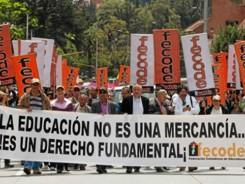 Colombia: Maestros no logran acuerdo con el gobierno y comienzan paro por tiempo indefinido