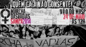 Marcha das Vadias, em SP, destaca que sexo sem consentimento é estupro