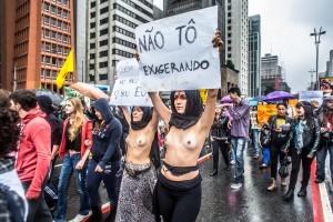 Foto reportagem: Marcha das Vadias em São Paulo