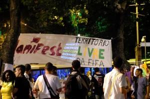 Foto Repostagem: Ato Manifest – Cinelândia, Rio 06/06/2014